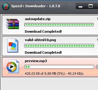 Speed+ Downloader